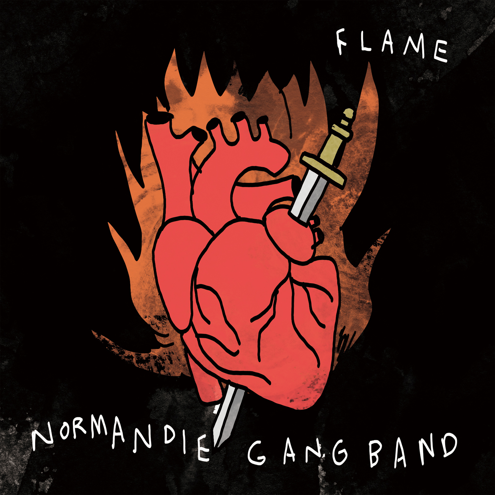 [CD] FLAME / NORMANDIE GANG BAND 2,160円(税込)