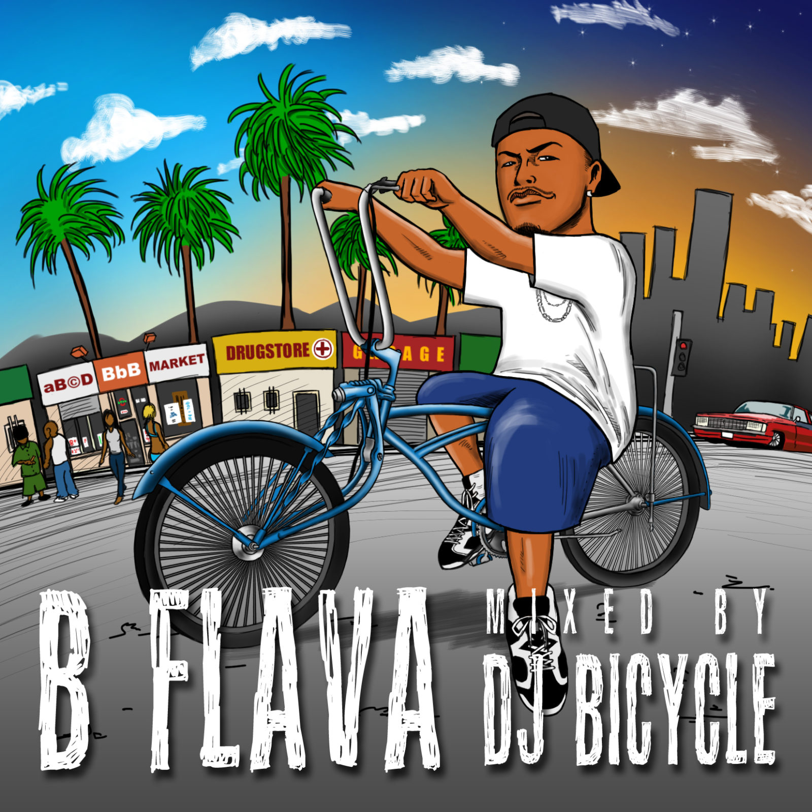 「B FLAVA」mixed by DJ BICYCLE 1,620円(税込)(2枚組MIXCD)